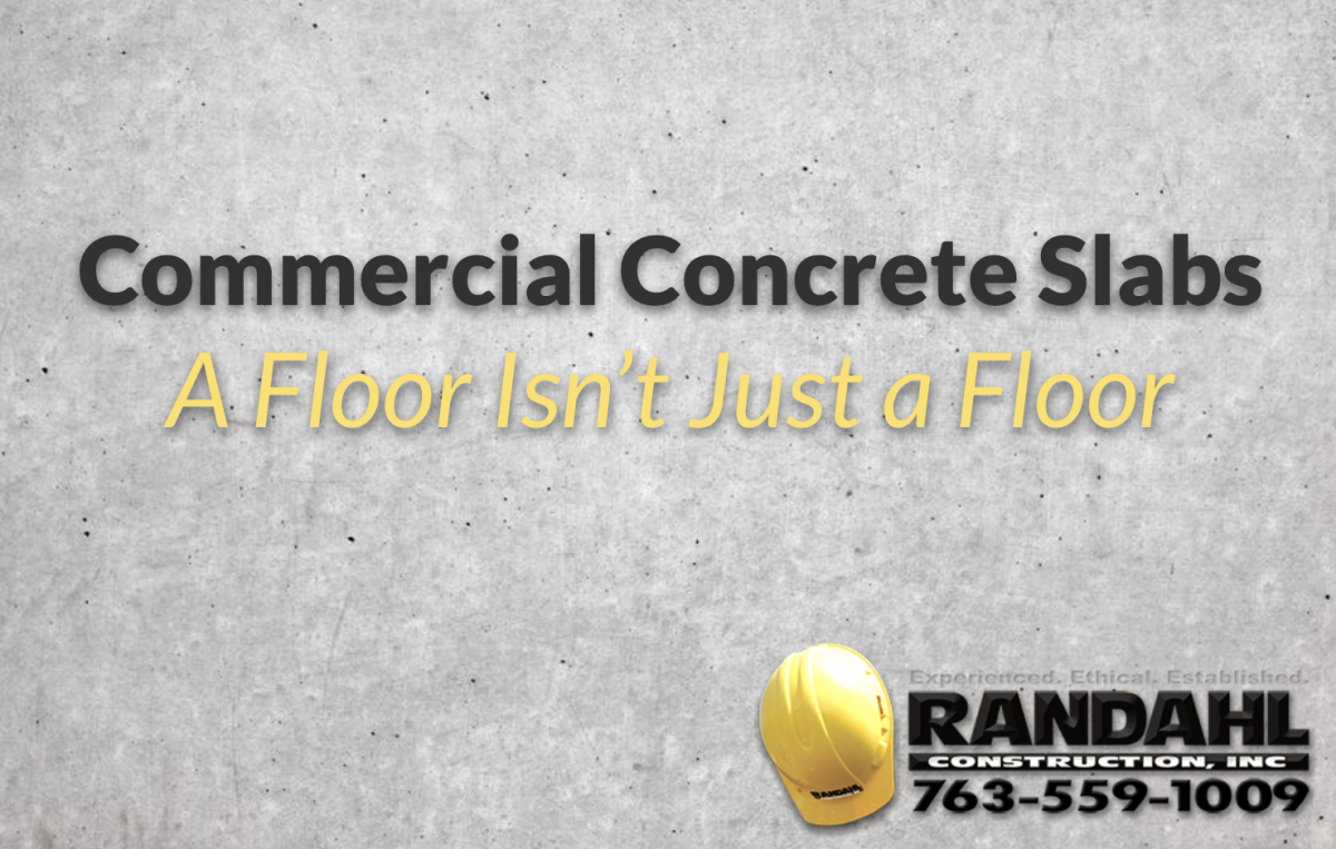 commercial concrete slabs