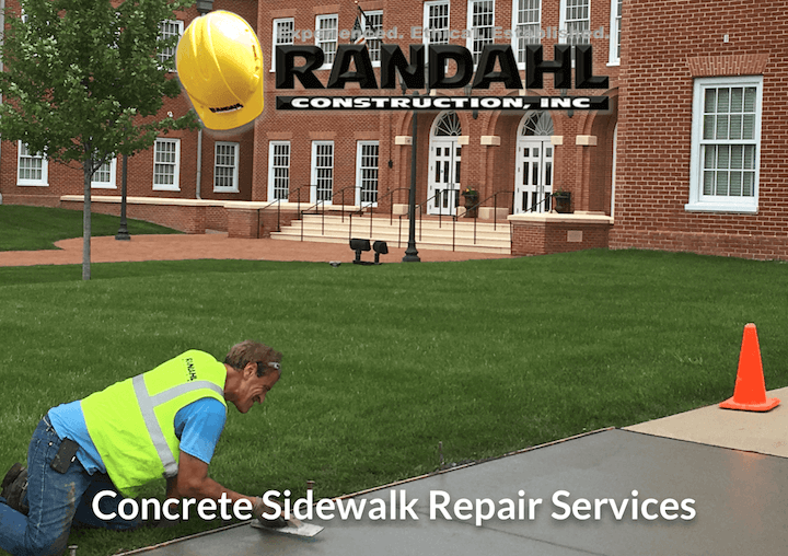 concrete contractor - sidewalk repair