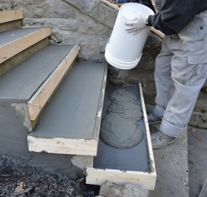 concrete stair repair in Minnesota