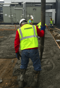 new concrete construction