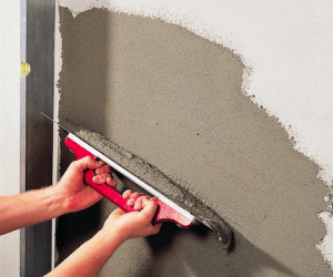 concrete wall repair